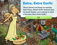 Extra, Extra Garlic