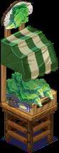 Harvestable-Lettuce Stand