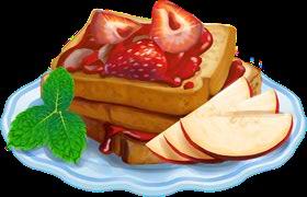 Recipe-Strawberry Toast