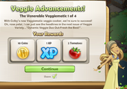 Veggie Advancements!