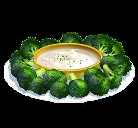 Recipe-Broccoli and Dip