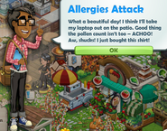 Allergies Attack
