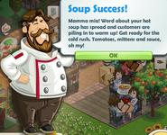 Soup Success!