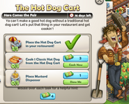The Hot Dog Cart