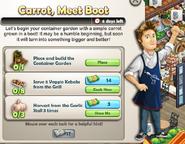 Carrot, Meet Boot