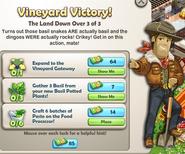 Vineyard Victory!