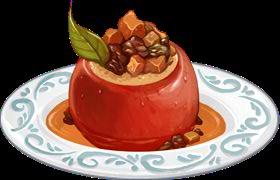 Recipe-Spiced Stuffed Apples