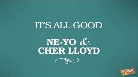 "Fruttare Fruit Bars NE-YO & Cher Lloyd - ""It's All Good"" Lyric Video"