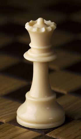 File:Chess piece - White queen.jpg