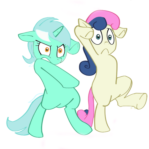 File:58123 safe lyra bonbon artist-furseiseki fighting-pose.png