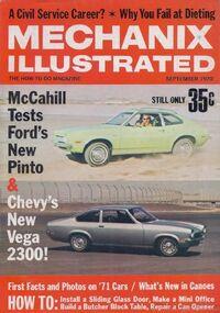 Mechanix Ilustrated Sept. 1970