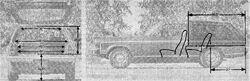 73 Vega wagon - 1973 R&T comparison