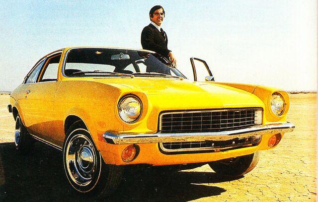 File:1971 Vega & DeLorean - Motor Trend Anniversary issue.jpg