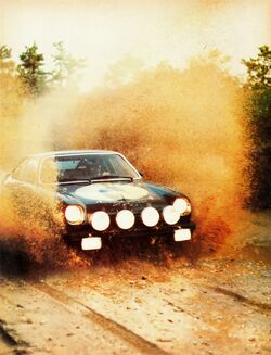 Car and Driver Cosworth Rally car - Dec. 1976