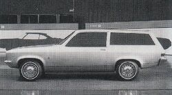 1968 XP-887 wagon clay model