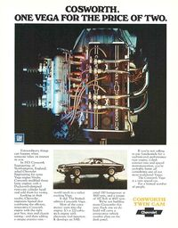 1975 Cosworth Vega Ad