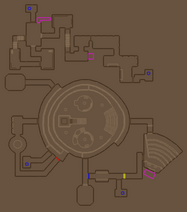 Chex Quest-E3M1 Minimap