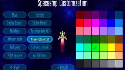 Spaceship Customization