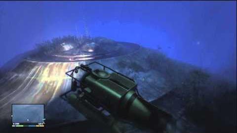GTA V(5) Hidden UFO Easter Egg! TUTORIAL