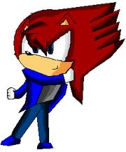 Tynic the hedgehog RP Character - Tynic