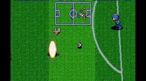 SNES Mega Man Soccer (Rockman Soccer)