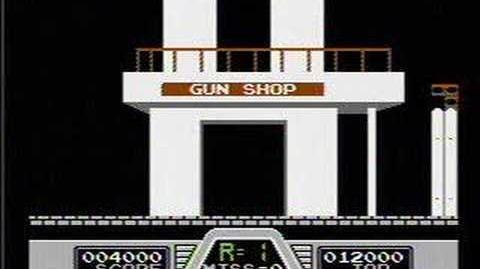 Hogan's Alley - NES Gameplay