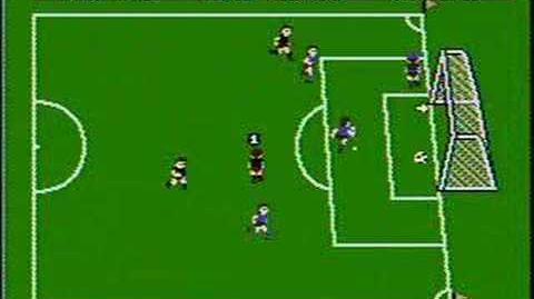 Soccer - NES Gameplay
