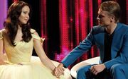 Peeta and Katniss' final interview in The Hunger Games