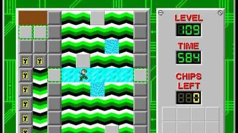 CCLP2 level 109 solution - 565 seconds