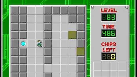CCLP2 level 83 solution - 388 seconds