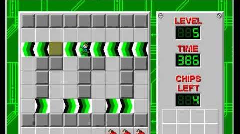 CCLP2 level 5 solution - 377 seconds