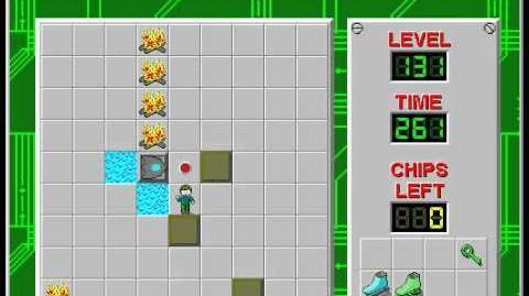 CCLP2 level 131 solution - 241 seconds