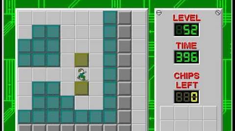 CCLP2 level 52 solution - 313 seconds