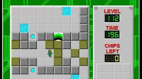 CCLP2 level 112 solution - 144 seconds