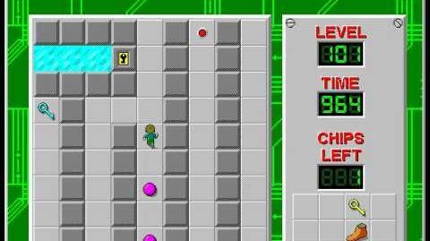 CCLP2 level 101 solution - 924 seconds