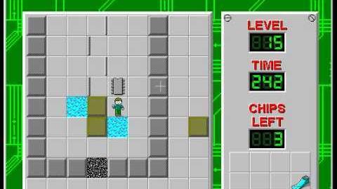 CCLP2 level 15 solution - 237 seconds