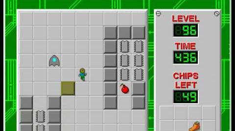 CCLP2 level 96 solution - 398 seconds