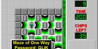 Maze of One Way