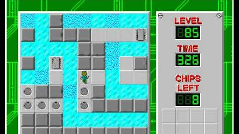 CCLP2 level 85 solution - 306 seconds