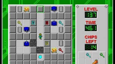 CCLP2 level 137 solution - 400 seconds