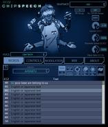 Cidertalk'84 Interface