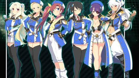 Choginga Senkan Hyper Galaxy Fleet Team 3 Art Overview