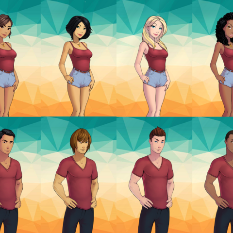 Avatar options in Book 2