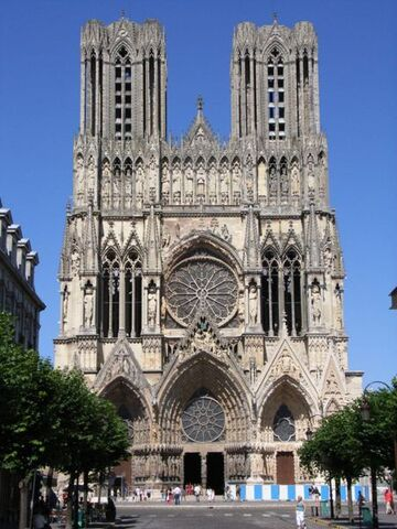 File:Notre Dame Cathedral -Reims-.jpg