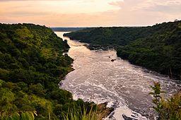 File:Evening, Nile River, Uganda.jpg
