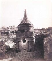 Yerushalayim Tomb of Absalom 1860s