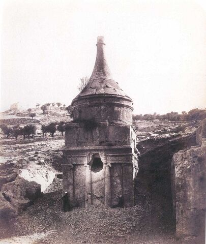 File:Yerushalayim Tomb of Absalom 1860s.jpg