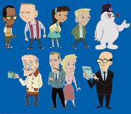 TLoFtSm scene, Bonus & Lanaugue selection characters