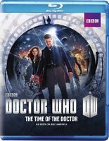 Doctor Who The Time of The Doctor US Blu-Ray