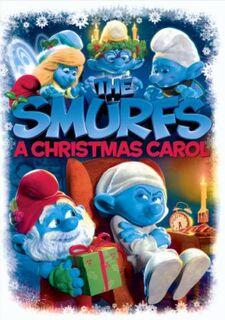 SmurfsChristmasCarolArtwork